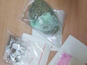 Zabezpieczone narkotyki